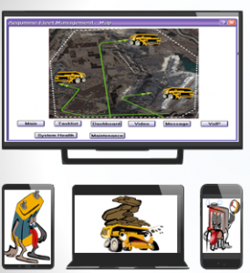 Acqumine' s cartoon-based interface that transcends language and literacy